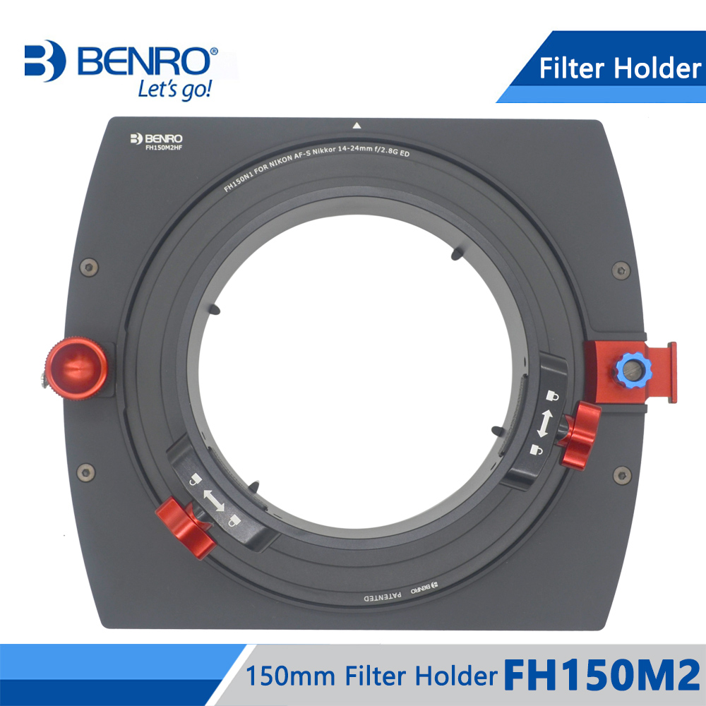 Benro FH150M2 Filter Holder 150mm Square Filter System ND/GND/CPL Filters Holder For Above 14mm Ultra-Wide Lens Free Shipping