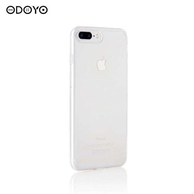"""Защитный чехол SOFT EDGE для iPhone 7 zice 5.5"""" yelly clear"""