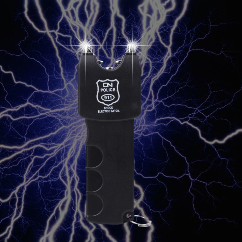 Hot sell electric shock stick people funny April Fool's Day Tricky electric toy with flashlight TSLM2 Toys