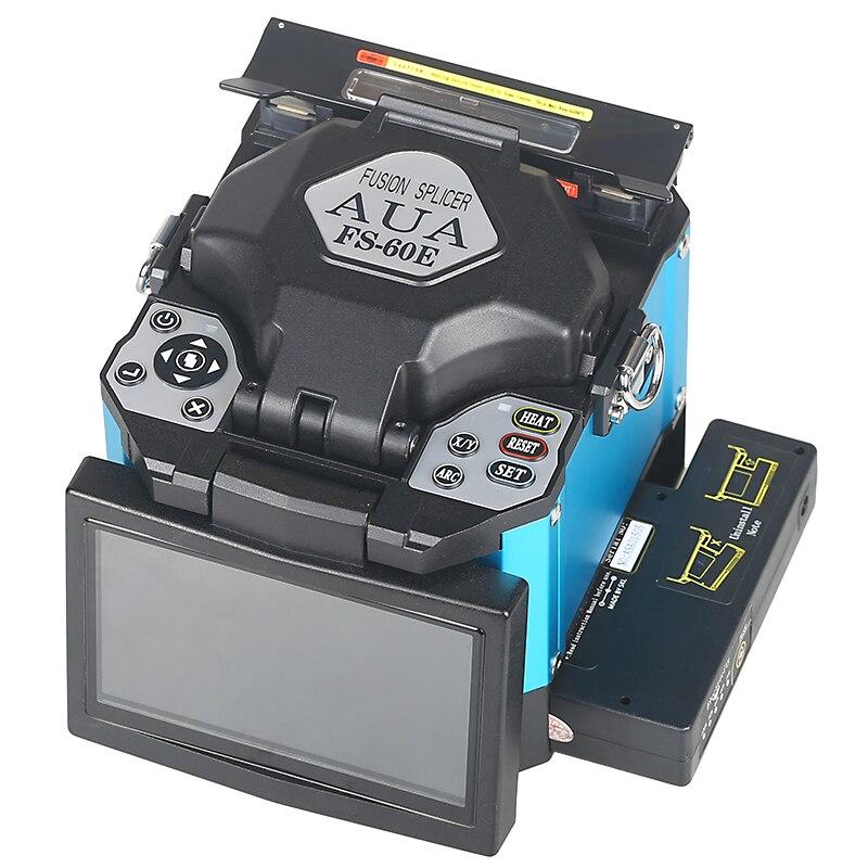 2019 Nouveau produit promotion AUA FTTH Fiber Optique Épissage De Soudage Machine Fiber Optique Fusion Colleuse FS-60E - 2