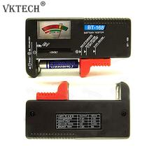 Universal Battery Tester Electronic Battery Volt Checker AA AAA 9V Button Multiple Size Battery Tester Voltage Meter Tools