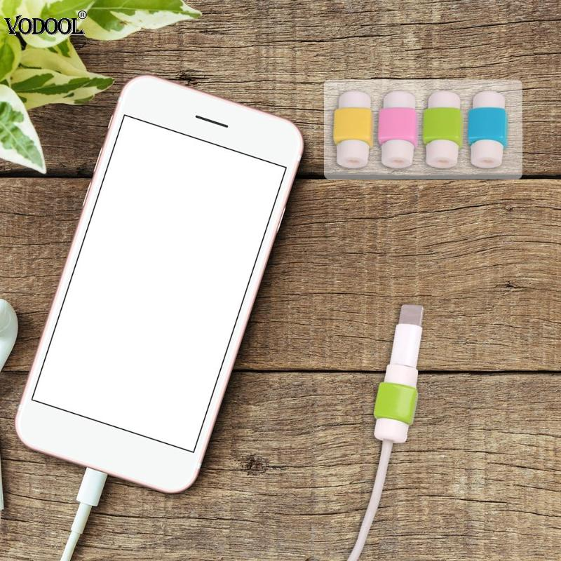 MIni Cable Wire Protector Saver Earphone Cord Protection Wire Cover USB Cable Protector Winding Mobile Phone Charger Data Line