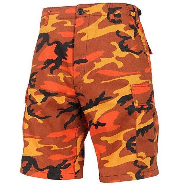 City Camouflage Summer Loose Male Military Army Tactical Shorts For Men Board Shorts Multi-pocket Camo Cargo Shorts A9136