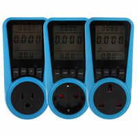 Digital Spannung Wattmeter Power Verbrauch Watt Energie Meter KWh AC230VAC120V EU UNS UK Stecker Strom Analyzer Monitor Sockel