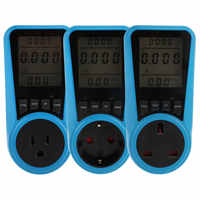 Digital Voltage Wattmeter Power Consumption Watt Energy Meter KWh AC230VAC120V EU US UK Plug Electricity Analyzer Monitor Socket