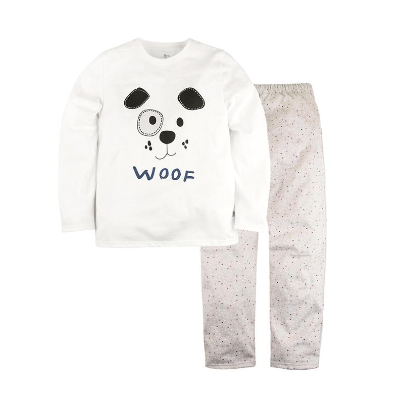 Children's Pajama Bossa Nova 362K-161m Children's Sets white woof esspero i nova white coffee