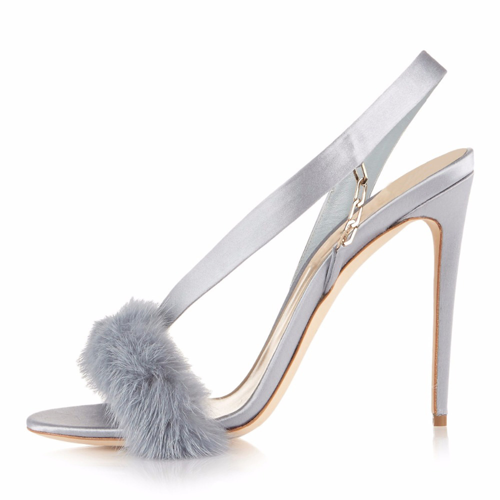 Carole Levy 2019 New Woman Stilettos Sexy Wine Red Pumps Lady Summer Shoes Furry Decor Thin Heels Solid Color Sandals Open ToeCarole Levy 2019 New Woman Stilettos Sexy Wine Red Pumps Lady Summer Shoes Furry Decor Thin Heels Solid Color Sandals Open Toe