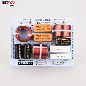 Image 1 - HIFIDIY لايف مرحبا فاي 3Way 3 وحدة مكبر الصوت (مكبر الصوت + منتصف + باس) مكبرات الصوت تردد مقسم مرشحات كروس L 380C