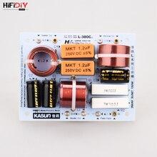 HIFIDIY altavoz Hi Fi de 3 vías, Unidad de altavoz (tweeter + mid + bass), divisor de frecuencia de audio, L 380C de filtros cruzados