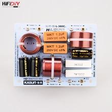 Hifibricolage LIVE Hi Fi 3Way 3 haut parleur (tweeter + mid + bass) haut parleurs séparateur de fréquence audio filtres croisés L 380C