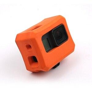 Image 3 - EVA étui de protection pour Gopro Hero 7/6/5 eau flottante Action Sport caméra accessoires flotteur pour nager de haute qualité