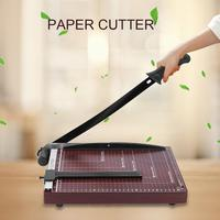 Manual Paper Cutting Machine Adjustable Guide Paper Cutter A4/B5/A5/B6/B7 Photo Incisive Guillotine Tool Economic Office Supplie