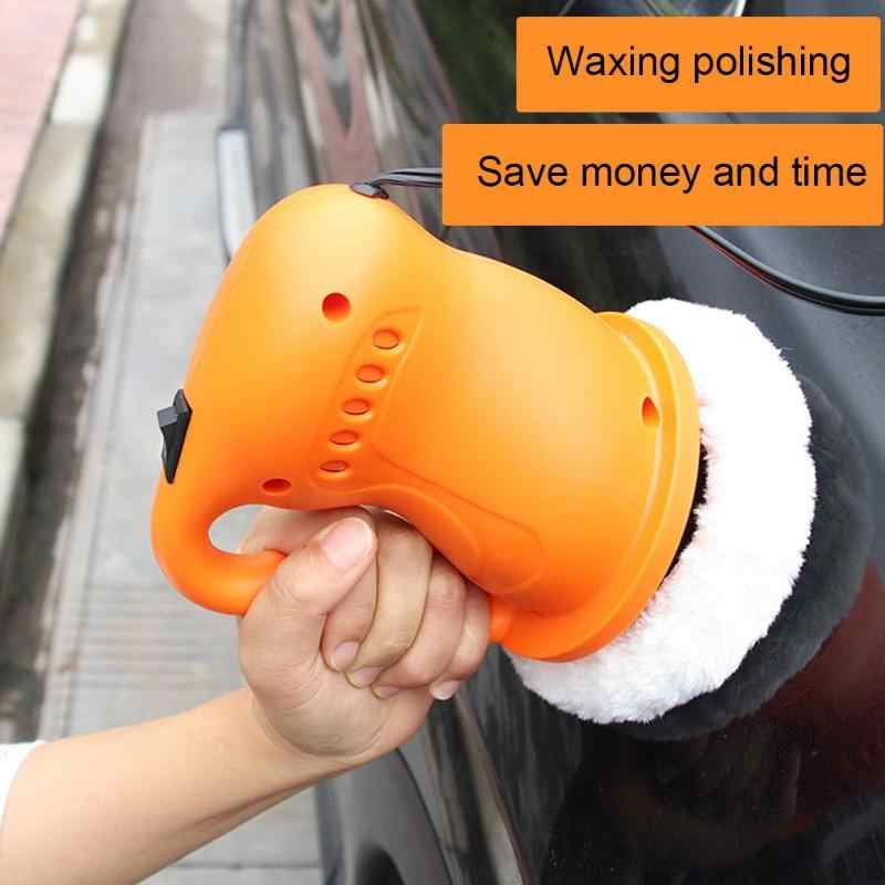 36W Portable Car Waxing Polishing Machine Car Polisher  Car Auto Polishing Machine Waxer Electric Polisher Cleaner Tool