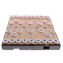 Nouveau 2 en 1 magnétique Double face conseil chinois jeu d'échecs Weiqi Go jeu jouets cadeau pour la fête familiale Club d'échecs Pub amusant jeu de société