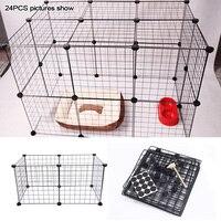 Маленький вольер для кроликов собака Манеж для питомцев манеж Indoor/Outdoor щенок Утюг Складной ограда от домашних животных
