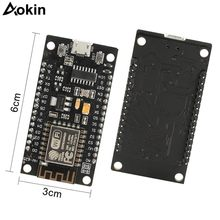 Module sans fil NodeMcu v3 Lua WIFI carte de développement Internet des choses ESP8266 avec antenne pcb port usb ESP-12E CH340(China)