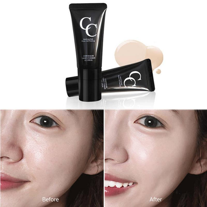 1pc Brighten Base Makeup Concealer Light Perception Concealer CC Rod Waterproof BB Cream Cosmetic Makeup