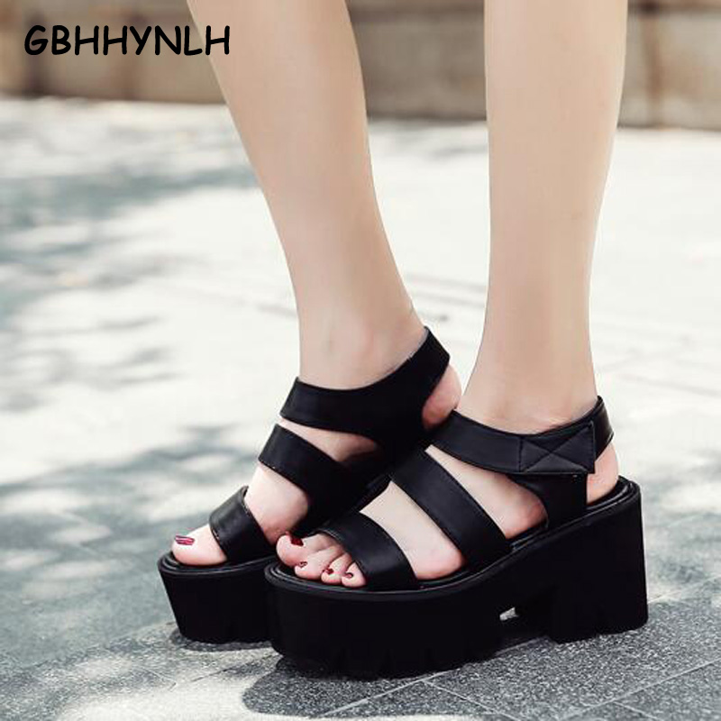 GBHHYNLH women casual sandles Women Pumps Summer Sandal Shoes for Women Thick Heels Sandals for Women