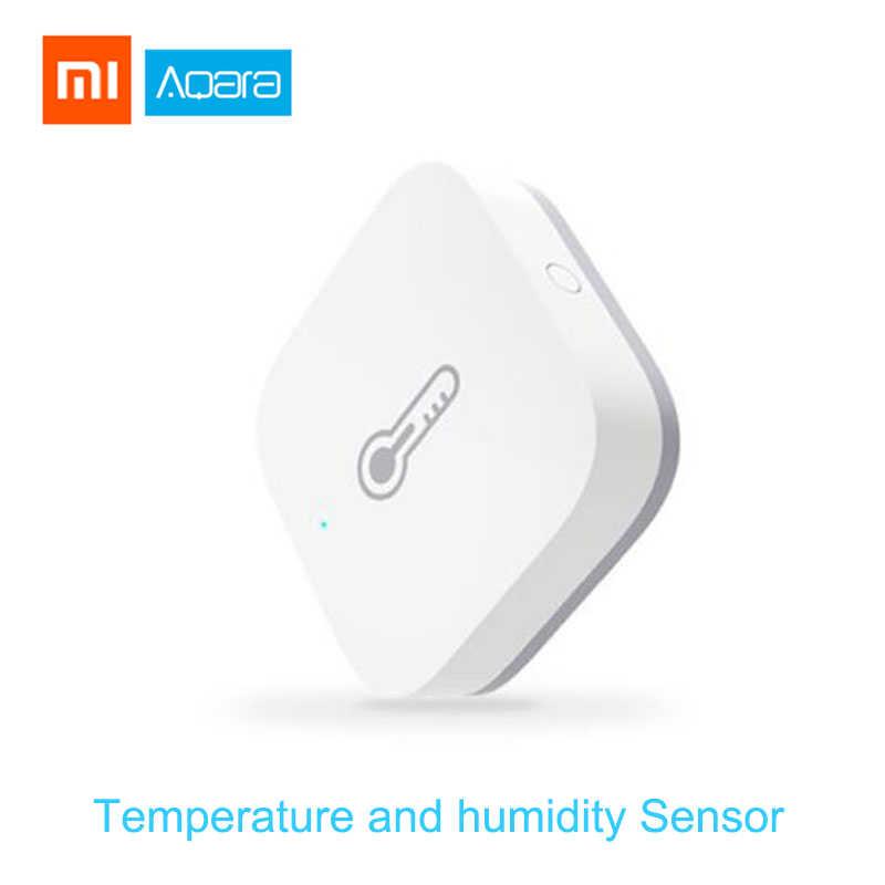 Aqara inteligentne zestawy do domu brama Hub czujnik drzwi okna ludzkie ciało bezprzewodowy przełącznik czujnik wilgotności temperatury wody Apple