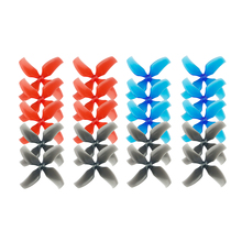10Pair 1545 1540 1.0/1.5 Hole 40mm Lightweight Propeller CW CCW 4-Blade Paddle for Mobula7 Beta75 Inductrix FPV Tiny 7X R7
