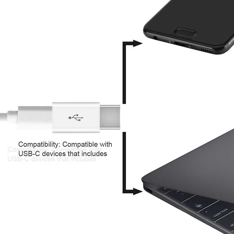 Typu C Otg adapter Micro USB do typu c kabel ładowarki do Samsung Galaxy A50 xiaomi 9 Redmi note 7 dla huawei p30 pro p20 typu c