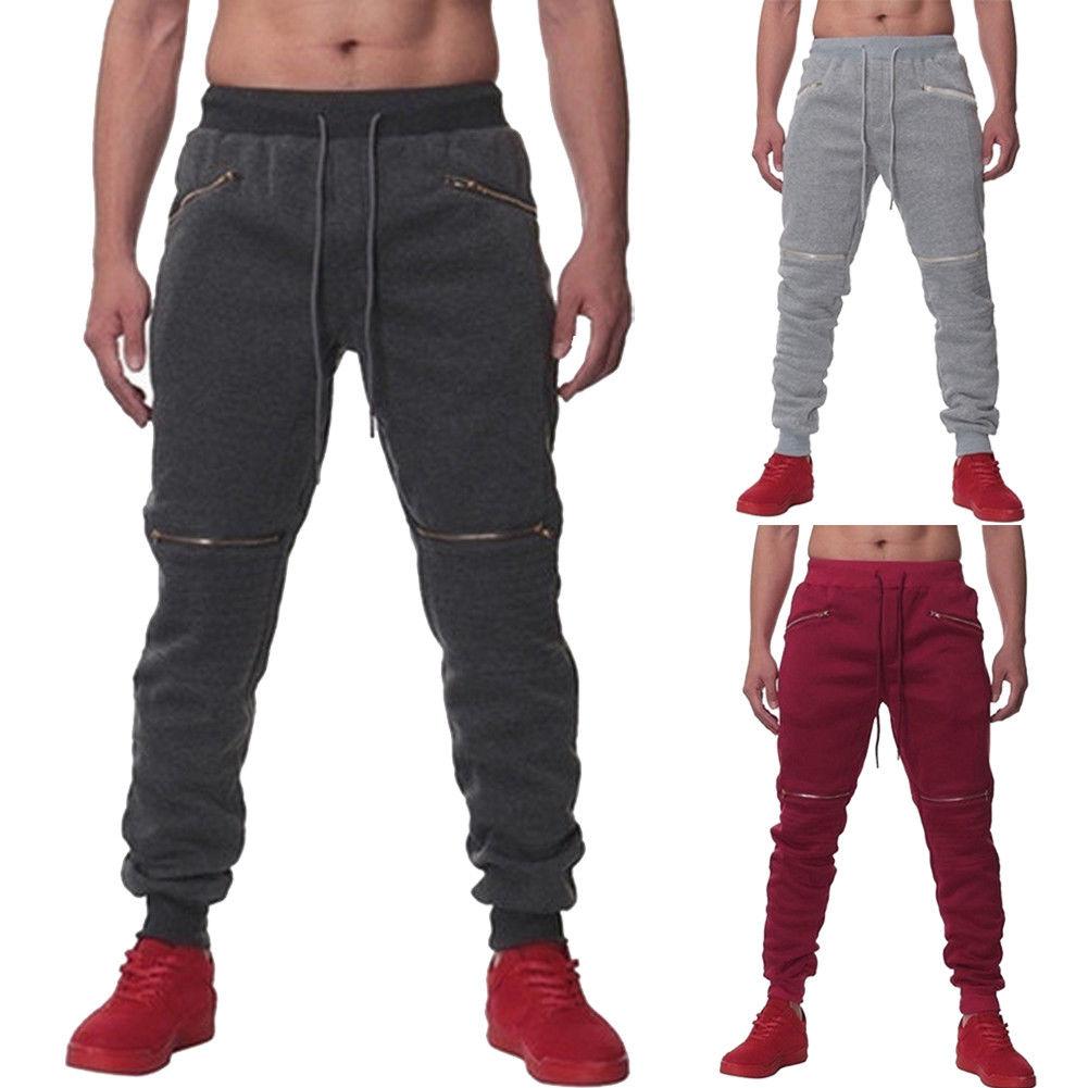 2018 Autunno Di Nuovo Modo Del Mens Elastico A Vita Del Carico Di Combattimento Pantaloni Jogger Pantaloni Lavoro Camo Lunga Pantaloni Pista