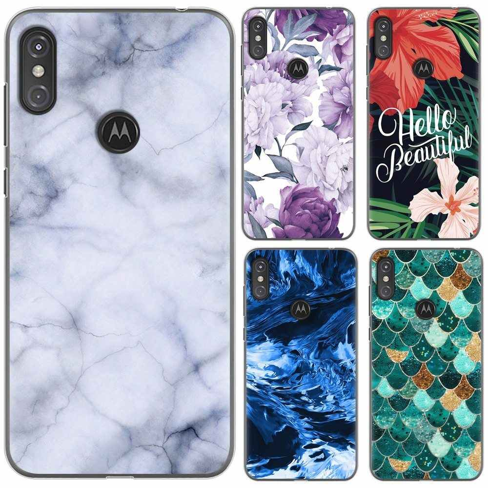 Soft Phone Case For Moto One / Moto P30 Play Fashionable Design Art Painted TPU Soft Case Silicone Cover
