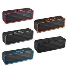 SC211 Bluetooth динамик портативный Bluetooth динамик открытый Bluetooth стерео динамик музыкальный плеер динамик бас для ноутбука телефона