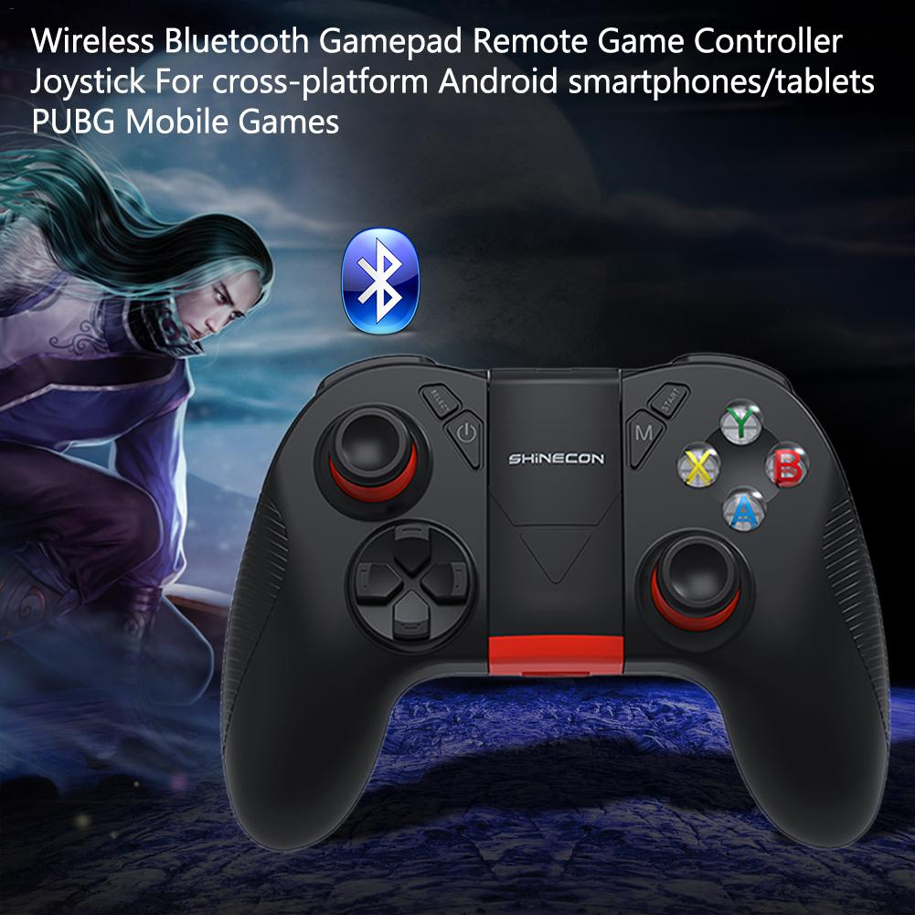 Image 5 - Wireless Bluetooth Gamepad Remote Game Controller Joystick For Cross Platform Android Smartphones Tablets For PUBG Mobile Game-in Gamepads from Consumer Electronics