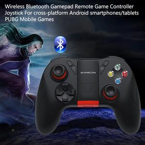 Image 5 - Wireless Bluetooth Gamepad Remote Game Controller Joystick For Cross Platform Android Smartphones Tablets For PUBG Mobile Game