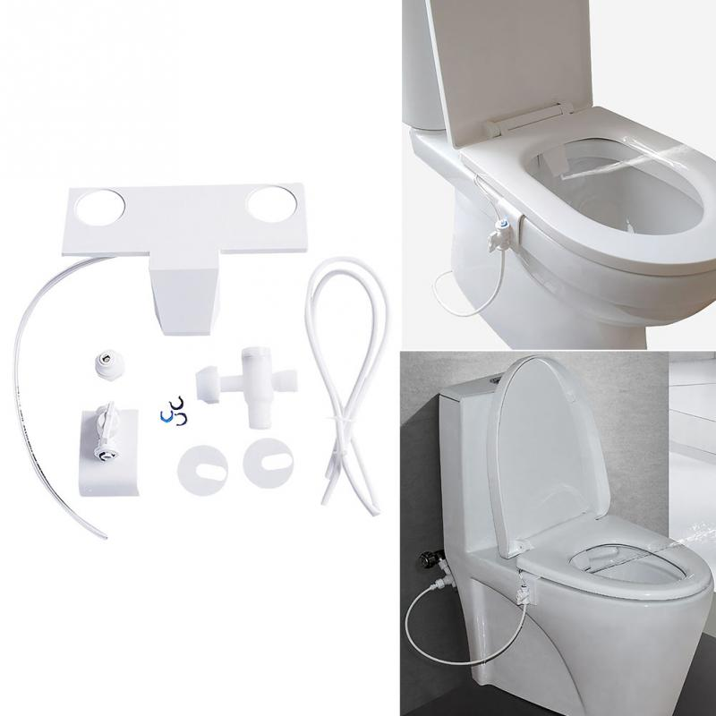 1pc Toilet Flushing Sanitary Device Bidet Water Spray Seat Practical Toilet Sprayer Nozzle Bidet Part Cleaning Adsorption #1026