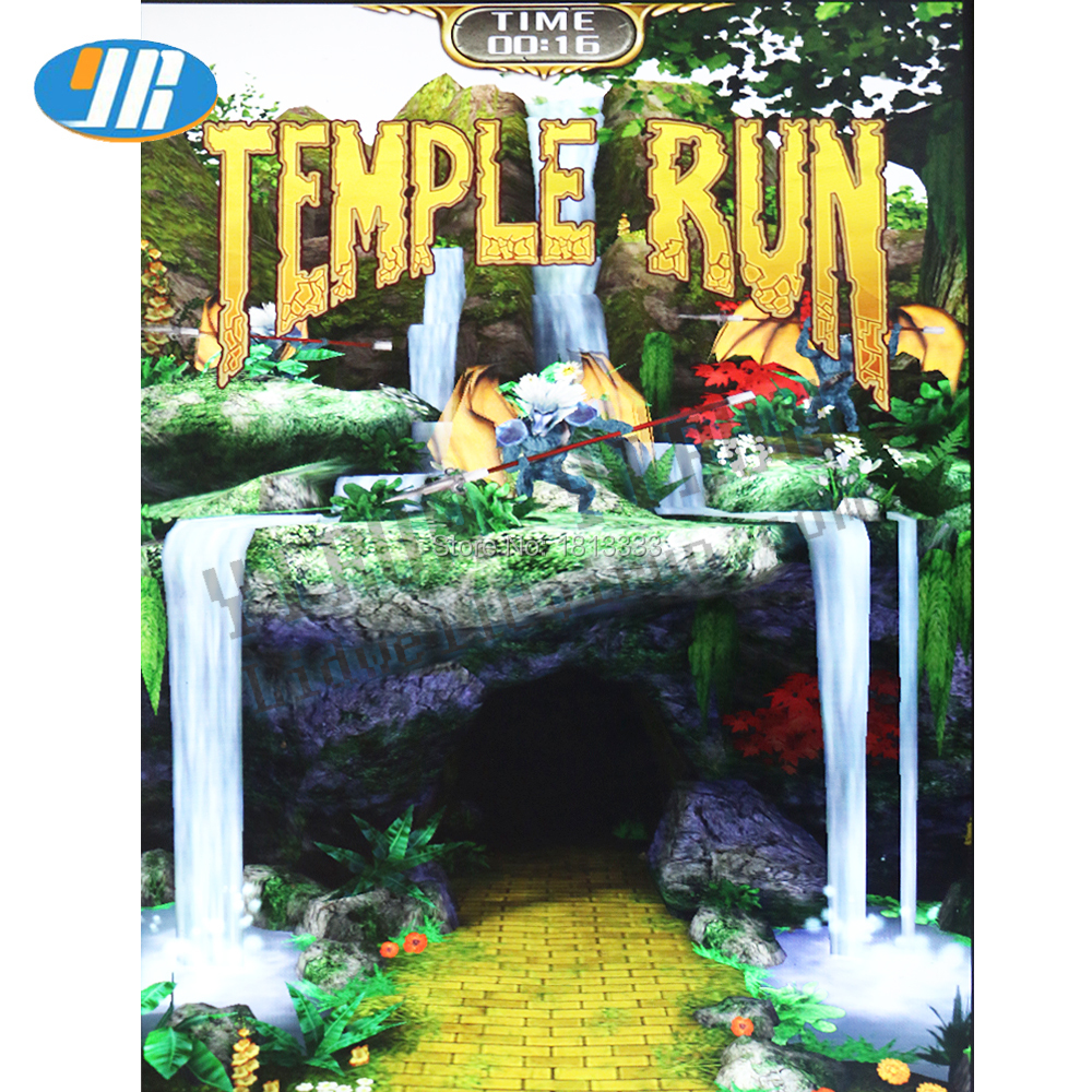 Temple Run game board with wires Simulated running game arcade game PCB board