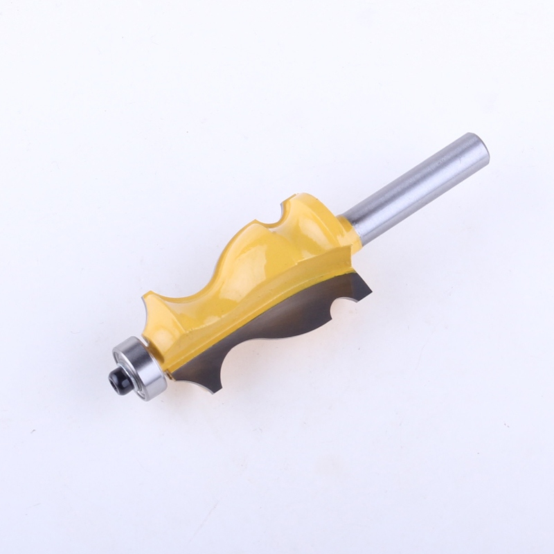 Image 3 - 1PC 8mm Shank Architectural Cemented Carbide Molding Router Bit Trimming Wood Milling Cutter for Woodwork Cutter Power Tools-in Milling Cutter from Tools