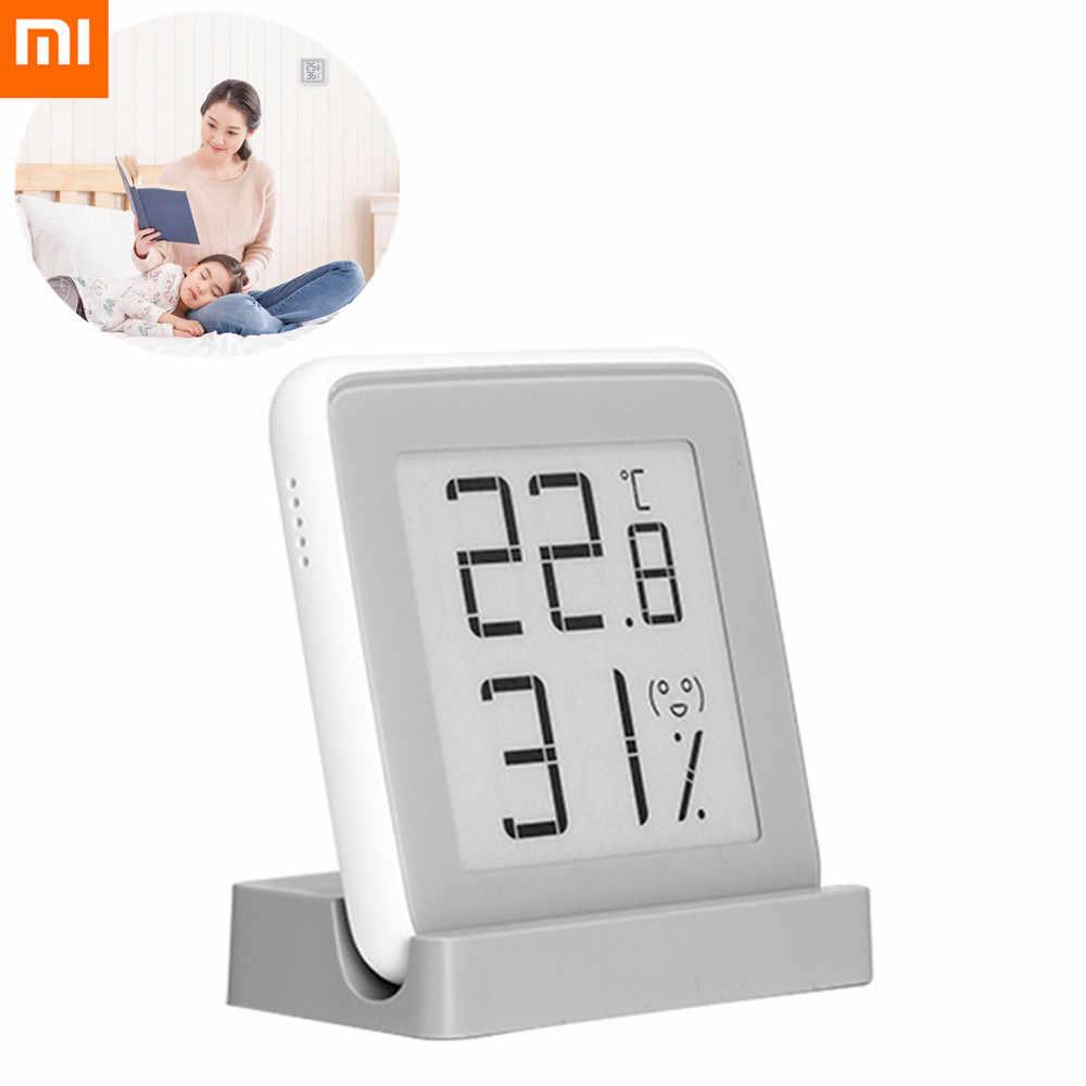 Xiaomi termômetro temperatura umidade sensor com tela lcd termômetro digital higrômetro para bebê infantil grávida cuidar