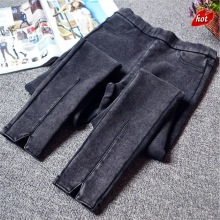 FRAME BEN Skinny High Waist Slim Casual Elastic Jeans for Woman Vintage Ankle Length