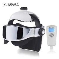 KLASVSA Электрический массажер для шеи Дальний инфракрасный нагрев вибрационная маска для глаз массаж воздуха давление стимулятор мышц здоро...