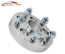 цена на 2PCS 5x100 15/20/25/30/mm 56.1mm Wheel Spacer Adapter 5 Lug Aluminum Wheel Flange Spacer For GT86 BRZ BRZ XV Forester impreza