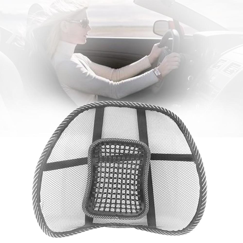 Car Back Cushion Mesh Chair Relief Lumbar Back Pain