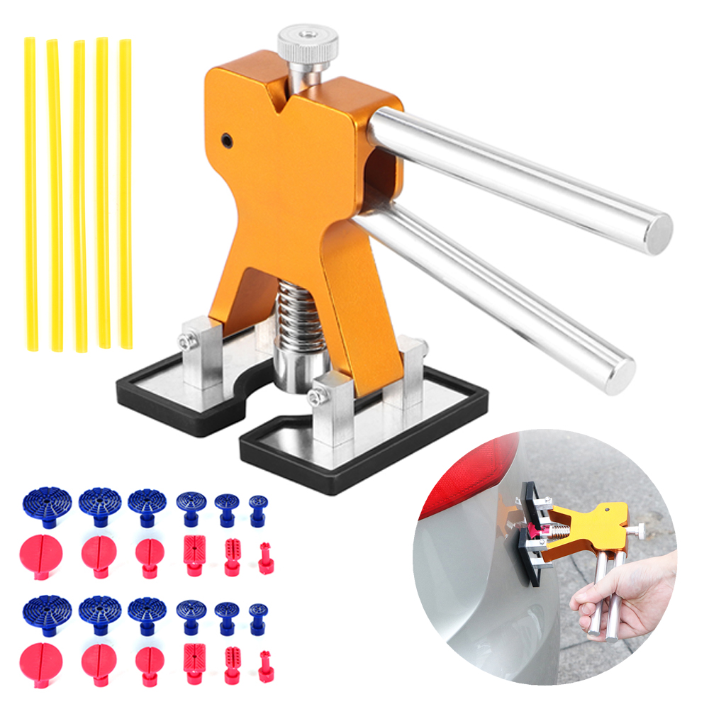 Auto Body Dent Repair Lifter Convenient Paintless New Tools Set Puller Useful