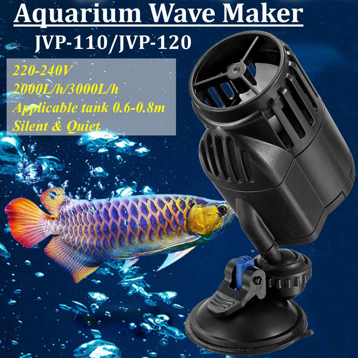Aquarium Wave Maker Water Pump Marine Submersible Aquariums Pond Propeller Circulation Pumps Coral Reef Powerhead Fish Tank