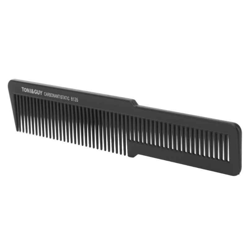 Pente pro de cabeça plana, antiestática para cabeleireiro e barbeiro, acessórios para cabeleireiro