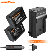 Powtree 7.2V 1400mAh BP-1030 BP1030 BP1130 BP-1130 Repalcement Camera Battery+Charger For Samsung NX200 Camera Battery L10 недорого