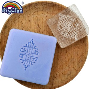 Image 4 - Islam Ramadan Soap Stamp Diy Handmade Muslim Arabic Building Transparent Soap Stamp For Ramazan Creative Gift Making
