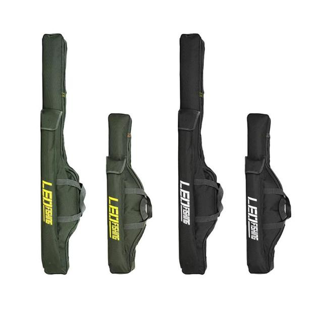 Cheap Portable Folding Fishing Bag Fishing Rod Tackle Carrier Storage Bag Case