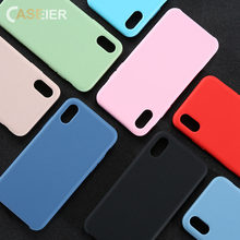 hot deal buy caseier macaron phone case for iphone x xs max xr 7 8 7 8 plus  tpu silicone phone case for iphone 8 7 6 6s plus funda cover