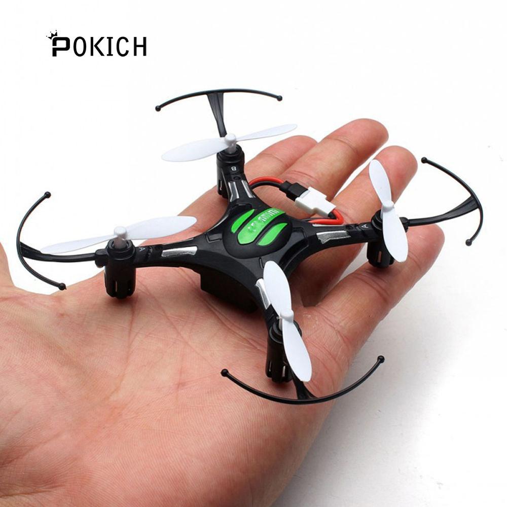 Pokich H8 Mini Headless RC Helicopter Mode 2.4G 4CH 6 Axle Quadcopter RTF Remote Control Drone Toy