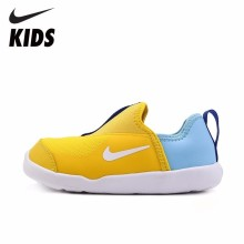 NIKE Kids Official New Arrival Child's Sneakers Breathable Outdoor Sports Running Shoes #AQ3113