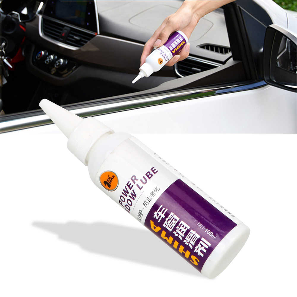 Car Window Lubricant Glass Lifting Door Noise Cancellation