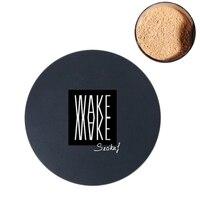 Secikuf рассыпчатая пудра для лица матовая отделка прозрачный фиксирующая пудра Professional полупрозрачный масло для макияжа-контроль компактный ...