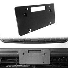 Кронштейн для номерного знака, адаптер для Subaru Crosstrek Forester для WRX Impreza, комплект рамы для переднего номерного знака